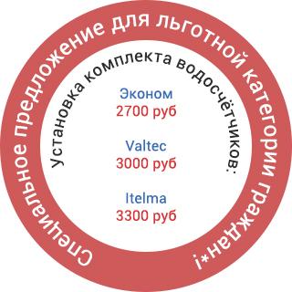 Спецпредложение для льготной категории граждан