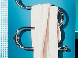 Установка полотенцесушителя водяного