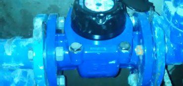 Замена водосчетчика D50 фото