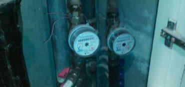 Фотоотчет по установке счетчика воды Эконом