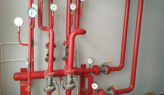 Монтаж коллекторного узла системы отопления