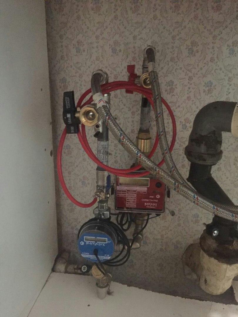 Счетчики воды с термодатчиком
